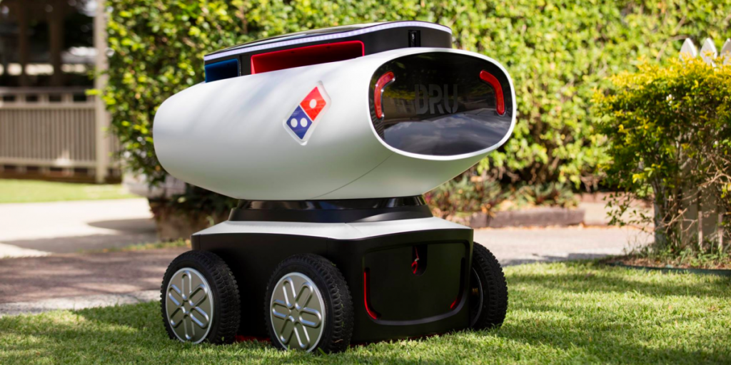 Domino%27s+self-driving+delivery+car