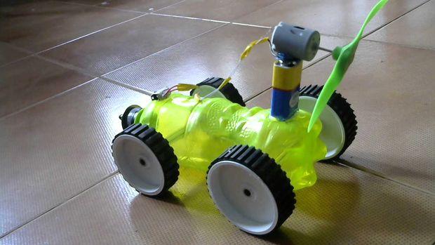 How to make an Air Powered Car