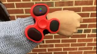 Bluetooth Fidget Spinner Hair Tie