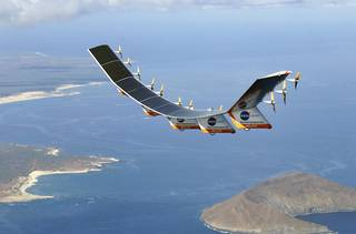 NASA'S Helios Prototype(Solar Powered Drone)