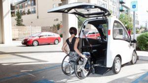 Kenguru the Car for People in Wheelchairs