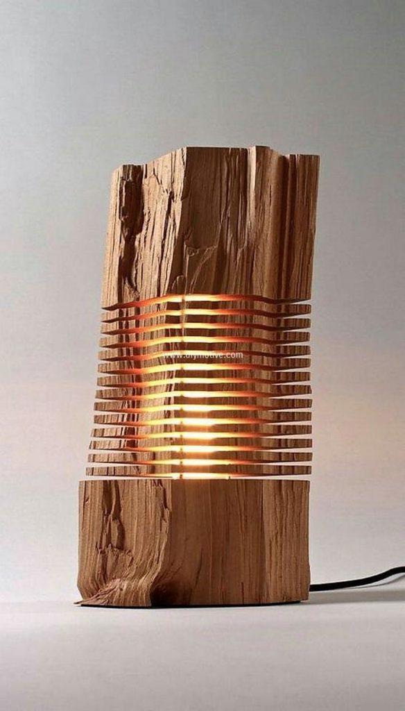 Wood+Lamp