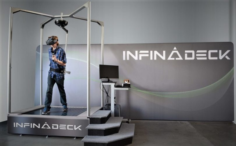 Infinadeck - The Omnidirectional Treadmill
