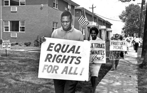 Equal Rights Protestors from the 1960s.