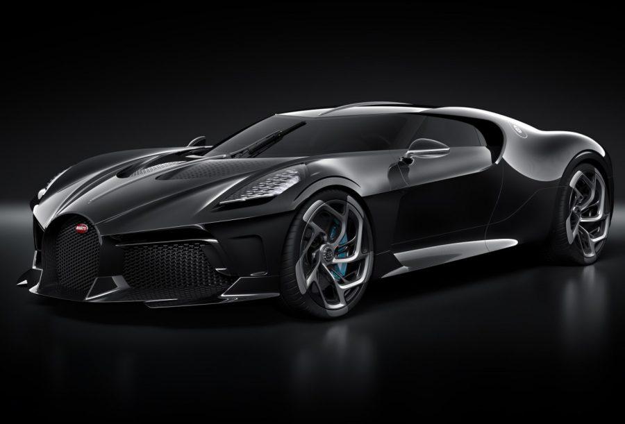 This is the Bugatti la Voiture noire. Image credit: Bugatti.com