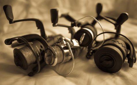 3 spinning reels