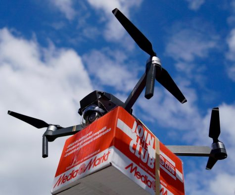 """Drone Delivery"" by www.routexl.com is licensed under CC BY 2.0"