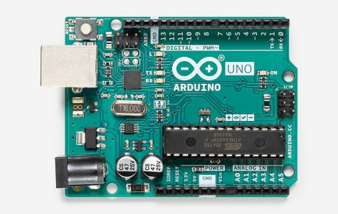 An Arduino Uno - Source: The official Arduino website (arduino.cc)