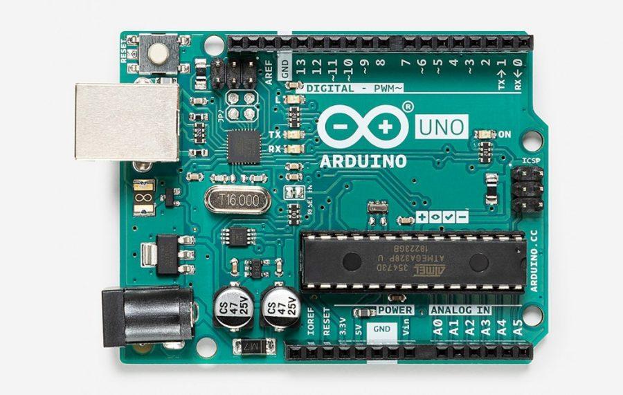 An Arduino Uno - Source: The official Arduino website (arduino.cc)