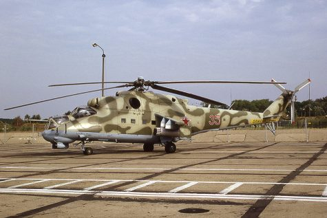 "MIL Mi-24, ""The Crocodile"""