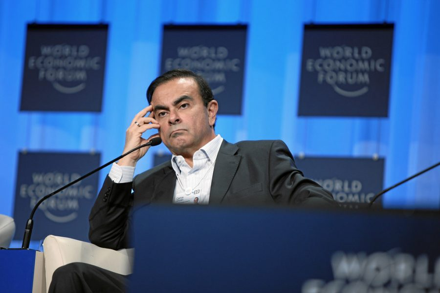 Carlos Ghosn - World Economic Forum Annual Meeting Davos 2010 by World Economic Forum is licensed under CC BY-NC-SA 2.0