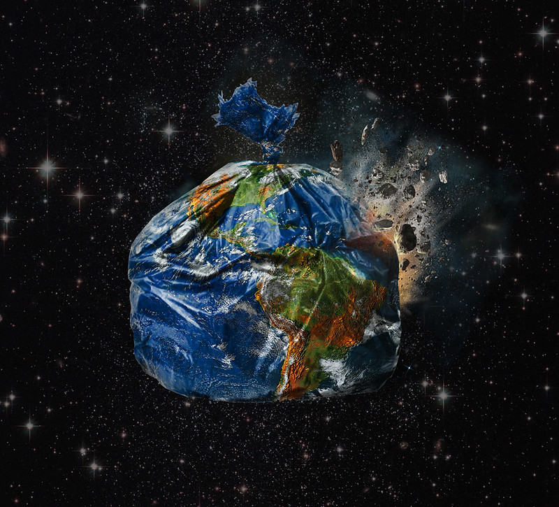 """""""Trashed Earth"""" by gideon_wright is licensed under CC BY 2.0"""