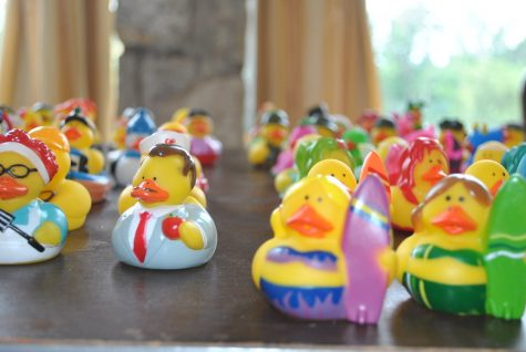 """Rubber Ducks!"" by dmuth is licensed under CC BY-SA 2.0"