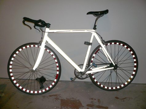 """Bright Bike (with flash) STOLEN!"" by mandiberg is licensed under CC BY-SA 2.0"