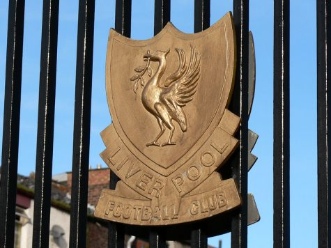 """Liverpool Football Club gate crest"" by AndyNugent is licensed under CC BY-NC-SA 2.0"