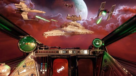 Screen Capture from Starwars Squadron