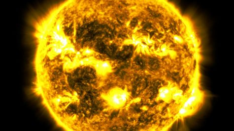 This is a picture of the Sun. Source: NASA