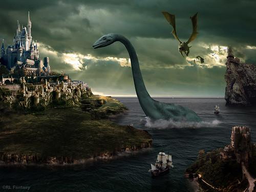 Fantasy Castle by RL Fantasy Design Studio is licensed under CC BY-SA 2.0