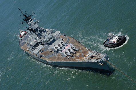 """USS Iowa"" by Dawn Endico is licensed under CC BY-SA 2.0"