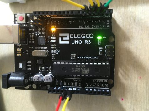 Elegoo Arduino Uno R3 - Spaceship Interface Project
