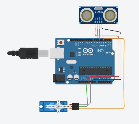 Elegoo Arduino Uno R3 - Motion Sensor Trash Can Project