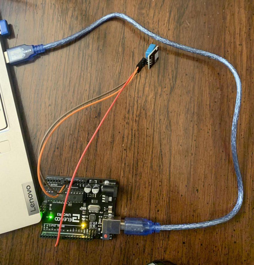 Elegoo+Arduino+Uno+R3-+%22Temperature+and+Humidity+Monitor%22