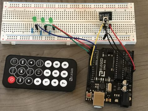 Elegoo Arduino Uno R3 - Control an LED with the Remote Control