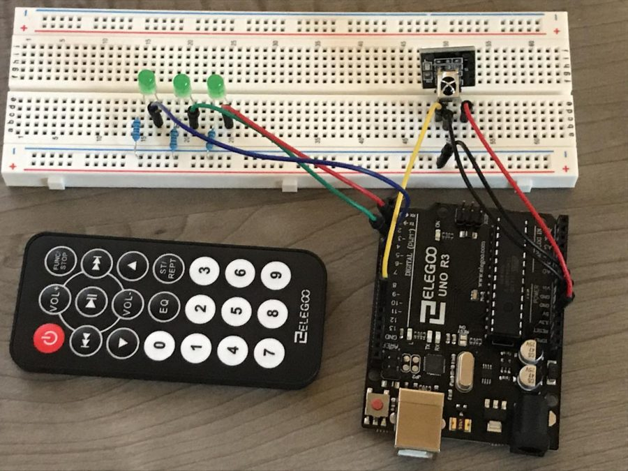 Elegoo+Arduino+Uno+R3+-+Control+an+LED+with+the+Remote+Control