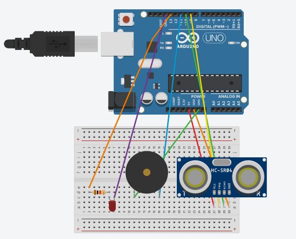 Elegoo+Arduino+R3+How+To+Make+A+Proximity+Sensor+Alarm