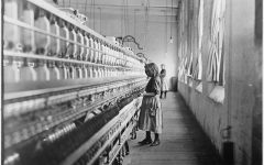 Child Labor: Carolina cotton mill, 1908. by Kelly Short6 is marked with CC PDM 1.0