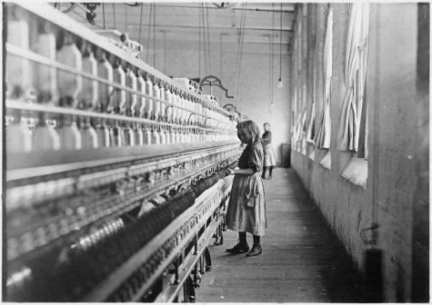 """Child Labor: Carolina cotton mill, 1908."" by Kelly Short6 is marked with CC PDM 1.0"