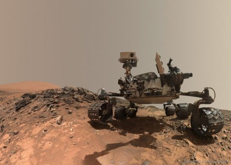 """Curiosity Rover Takes Selfie on Mars"" by NASA"