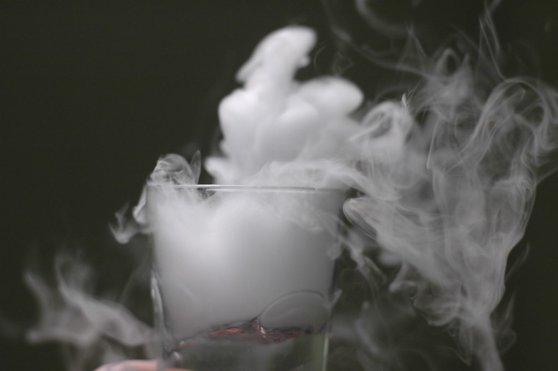 "Image Source:  ""More fun with dry ice"" by niclas is licensed under CC BY-NC-ND 2.0"