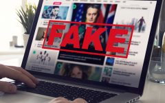 Fake News - Computer Screen Reading Fake News by mikemacmarketing is licensed under CC BY 2.0