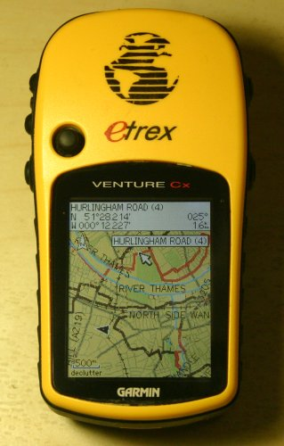 """Osm Cycle Map on my GPS"" by gravitystorm is licensed under CC BY-NC-SA 2.0"