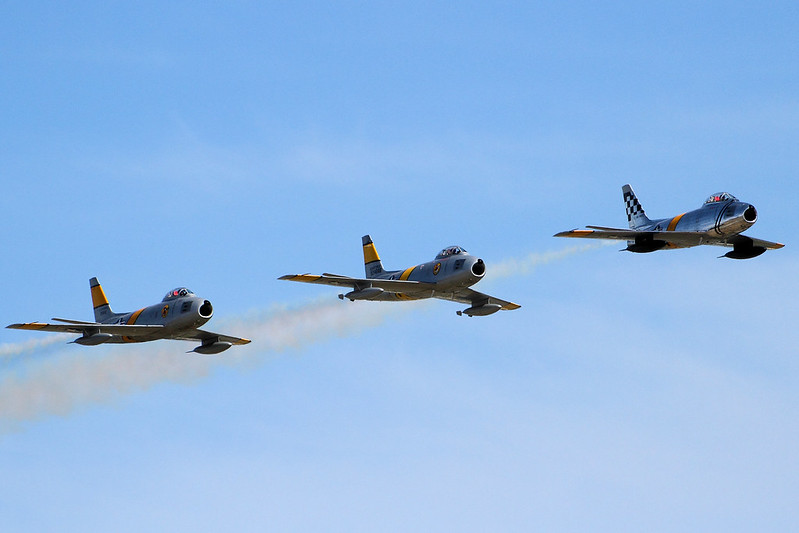 %22F-86+Sabres+-+Chino+Airshow+2014%22+by+Airwolfhound+is+licensed+under+CC+BY-SA+2.0