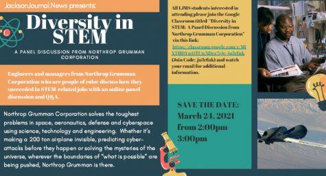 Northrop Grumman Provides Diversity in STEM Panel for Middle School Students