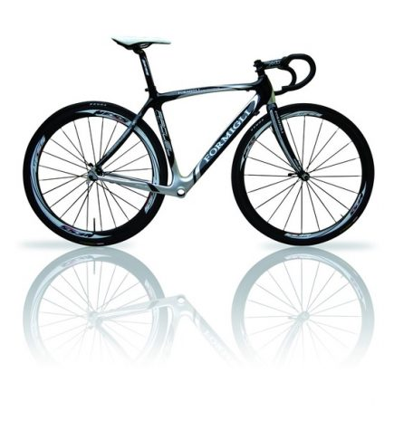 """""""Formigli Raquel Stock Carbon bicycle frame"""" by KevinSaunders is licensed under CC BY-NC-ND 2.0"""