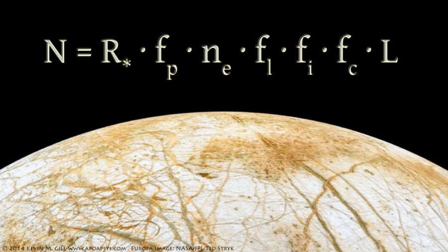 Europa Rising - Drake Equation by Kevin M. Gill is licensed under CC BY 2.0