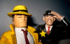 Police Detective Dick Tracy next to Fearless Fosdick 0350 by Brechtbug is licensed under CC BY-NC-ND 2.0