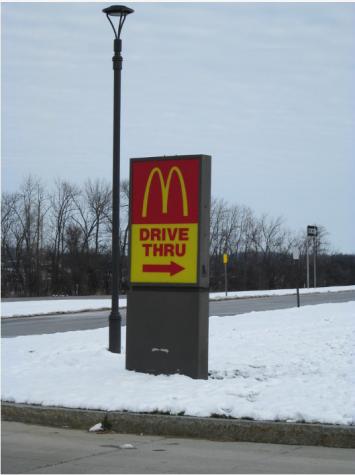 McDonalds drive-thru