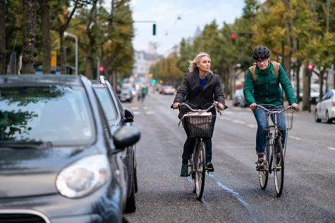 """Bikes at Frederiksberg Allé, Denmark"" by Kristoffer Trolle is licensed under CC BY 2.0"