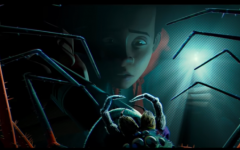 Miles Morales Looking At Radioactive Spider